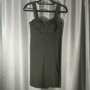 Black spandex athleta dress